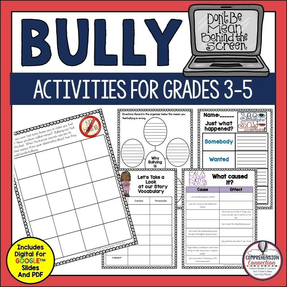 Bully by Patricia Polacco Book Companion