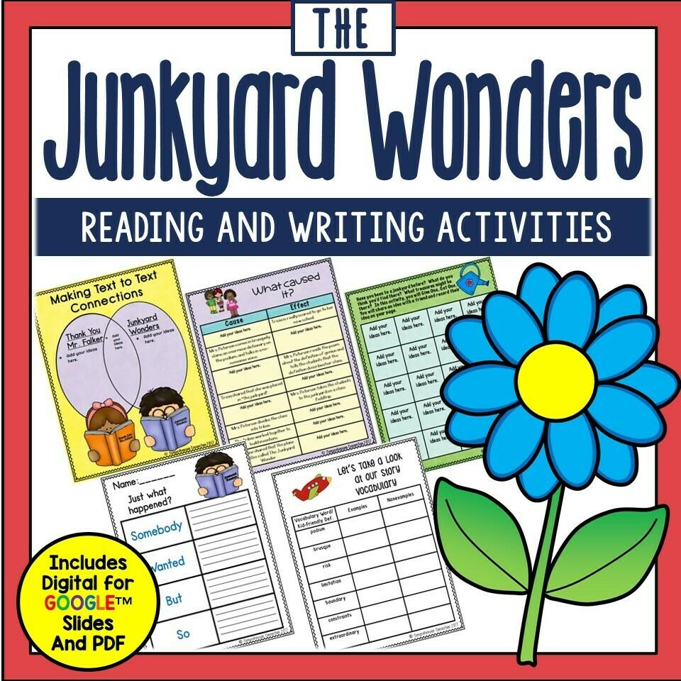 Junkyard Wonders Book Companion