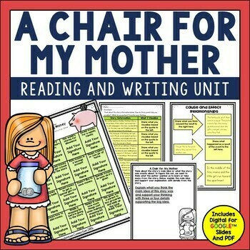 A Chair for My Mother Activities