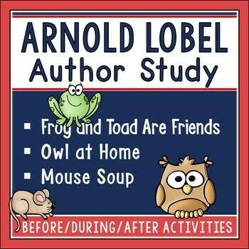Arnold Lobel Author Study