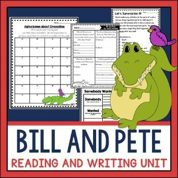 Bill and Pete Book Companion