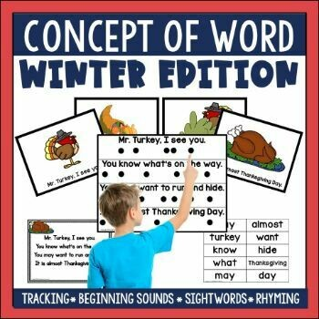 Concept of Word Winter Poetry Bundle (PDF)