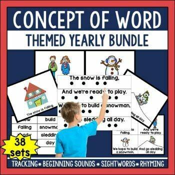 Concept of Word Seasonal Yearly Bundle
