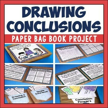 Drawing Conclusions Paper Bag Book for Comprehension