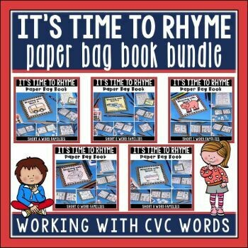 Short Vowel Paper Bag Book Bundle