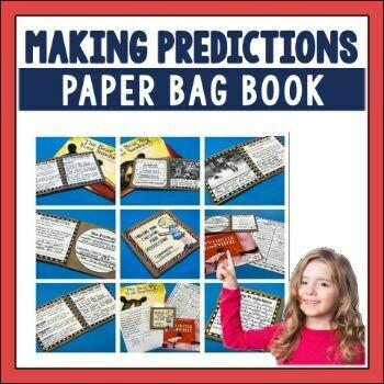 Making Predictions Paper Bag Book