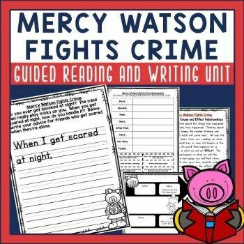 Mercy Watson Fights Crime Book Activities