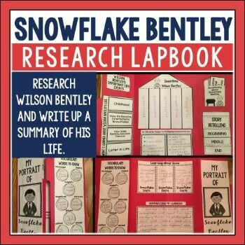 Snowflake Bentley Research Lapbook