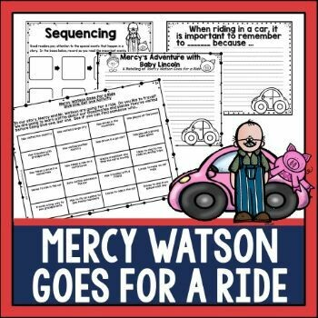Mercy Watson Goes for a Ride Book Activities