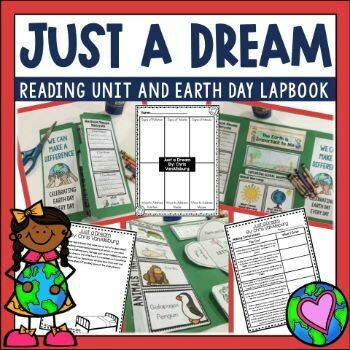 Just A Dream Book and Earth Day Activities