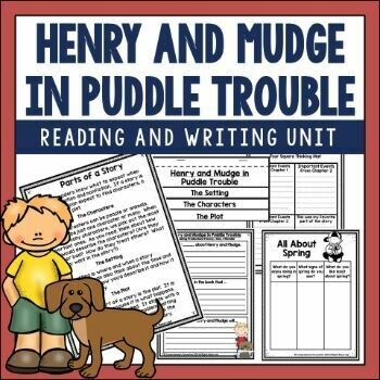Henry and Mudge in Puddle Trouble Activities