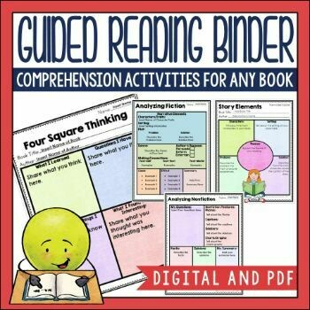 Guided Reading Binder in PDF and Digital