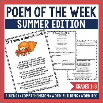 Poem of the Week Summer Edition