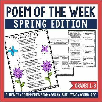 Poem of the Week Spring Edition