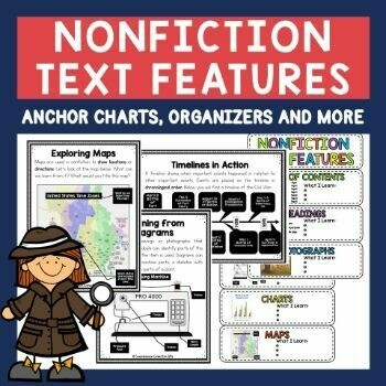Nonfiction Text Features Teaching Bundle
