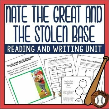Nate the Great and the Stolen Base Reading Activities