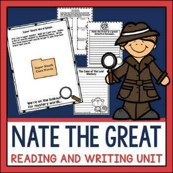 Nate the Great Reading Activities