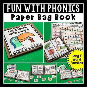 Long E Paper Bag Book