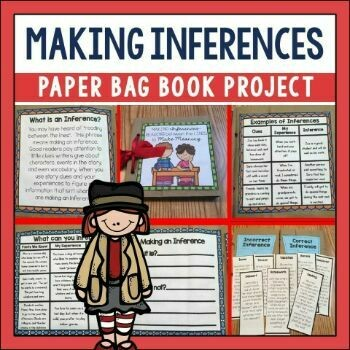 Making Inferences Paper Bag Book