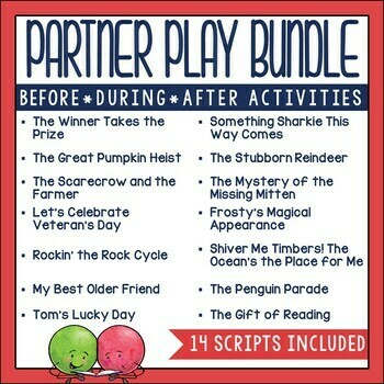 Partner Plays for Big Kids (15 sets)