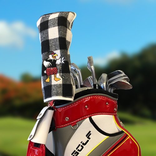 ACCRA Reversible Driver Headcover (White/Black) PROMOHC(2019)DR-BLK