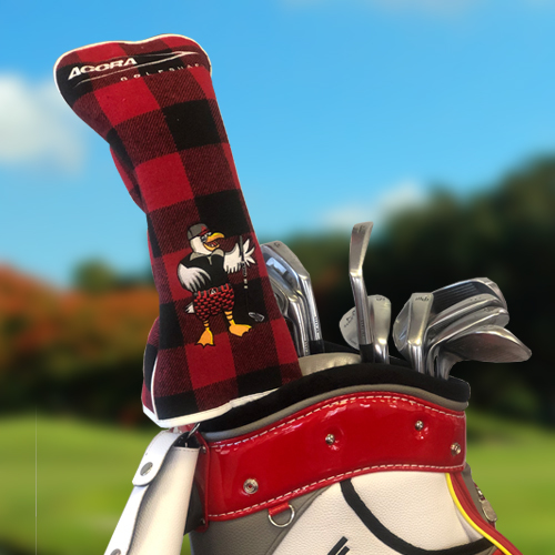 ACCRA Reversible Driver Headcover (White/Red) PROMOHC(2019)DR-RD
