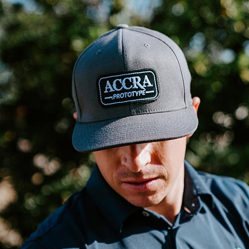 ACCRA Prototype Hat (Grey) PROMOHAT2018PROTO-Grey