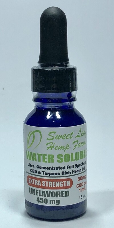 Extra Strength Water Soluble Hemp Oil