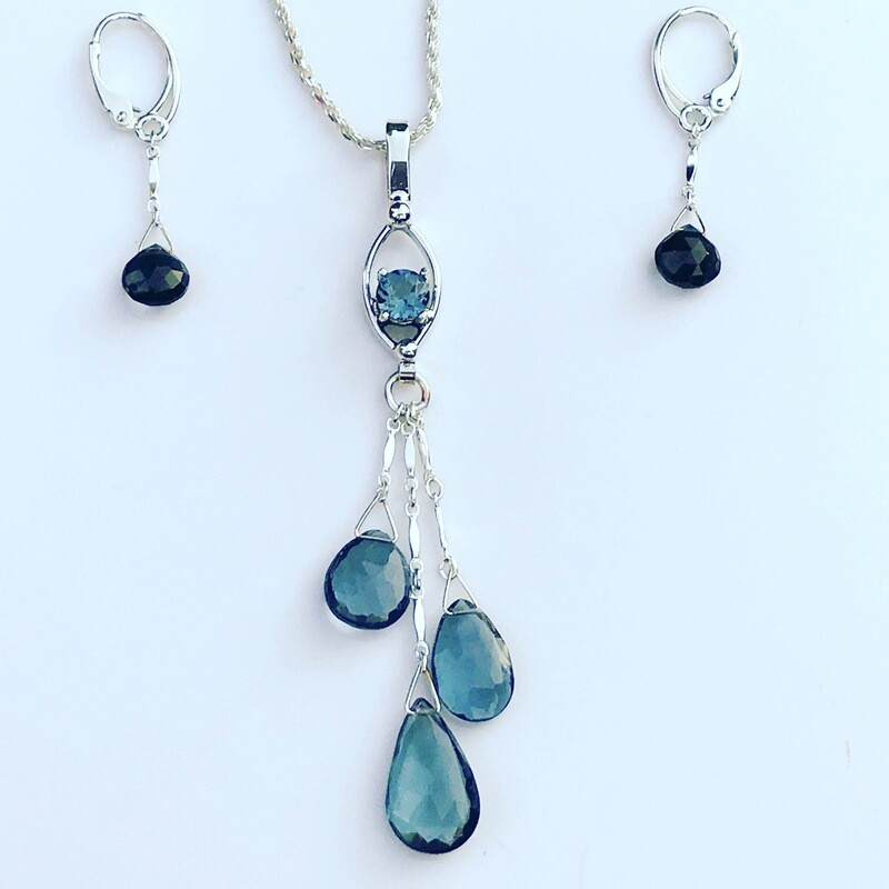 London Blue Topaz Set