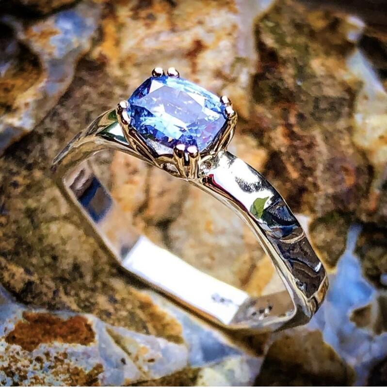 Sri Lankan Sapphire Ring