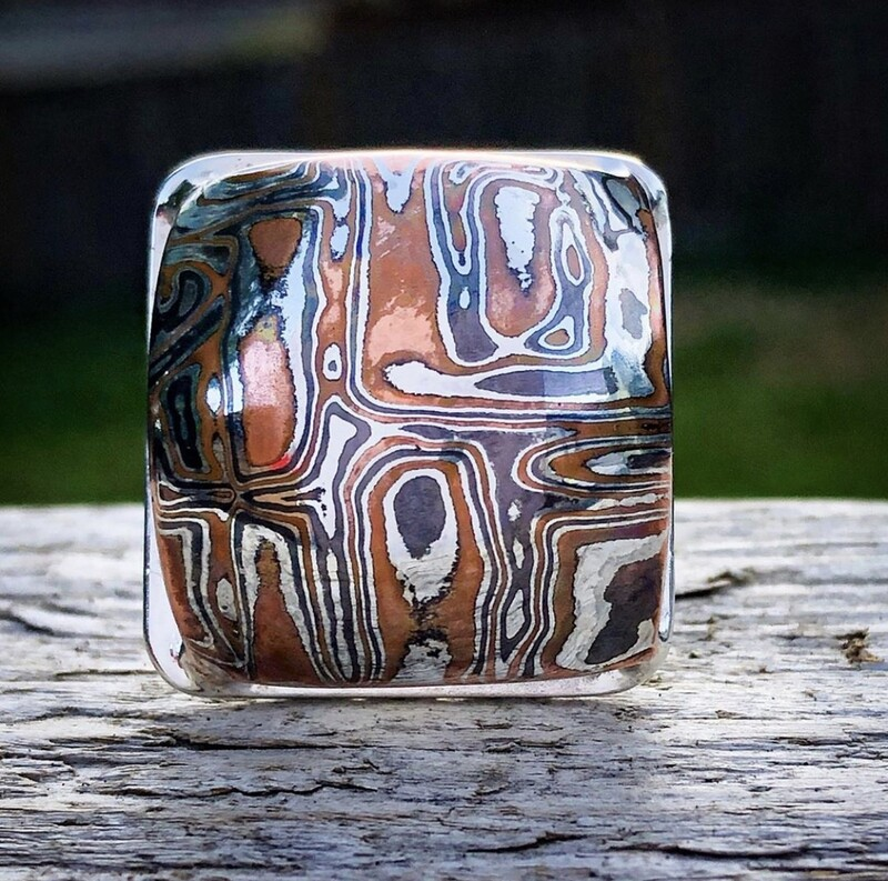 Mokume' Gane' Ring