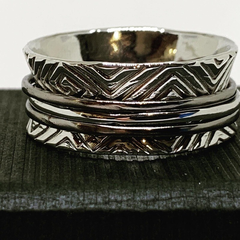 Argentium Sterling Silver with Titanium and Silver