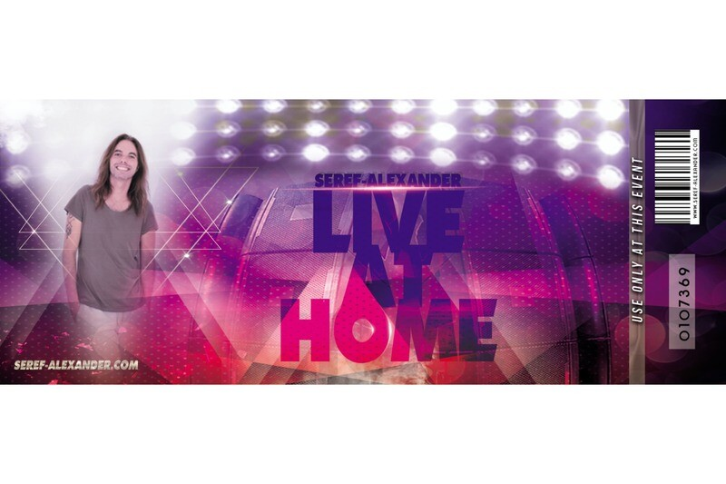 Get your private Live at Home Ticket