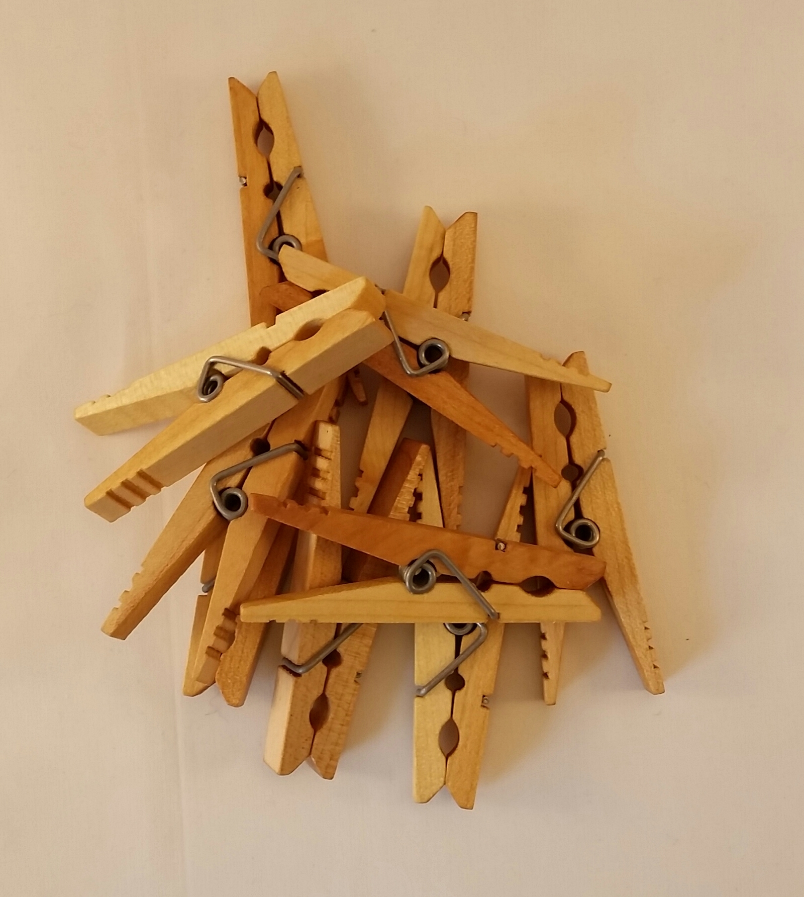 Kevin's Quality Clothespins Factory Seconds Set of Ten 00003