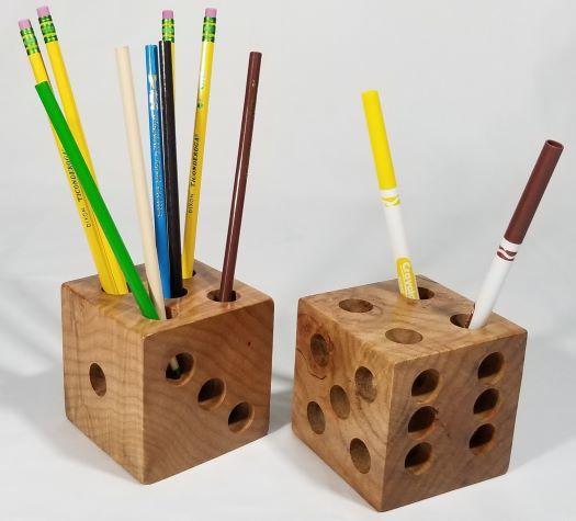 Dice Pencil Holder 00008