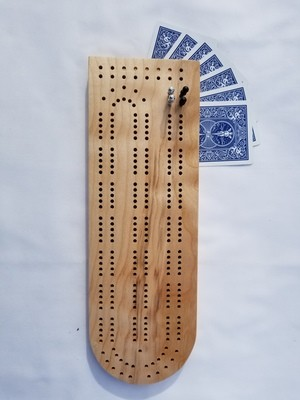 Classic Cribbage Board