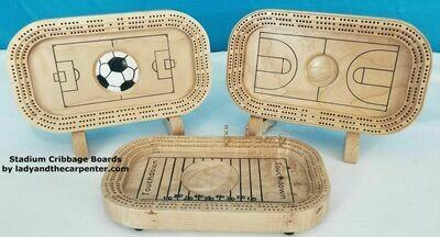 Stadium Cribbage Boards