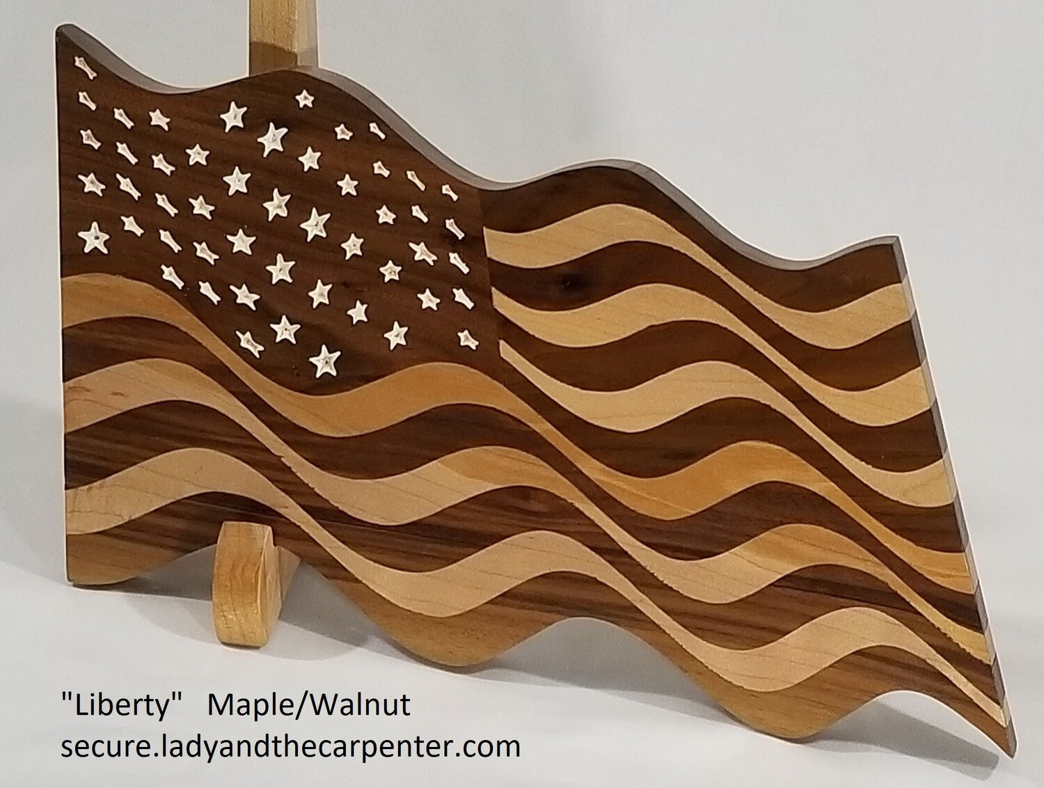 """Liberty"" (Waving Flag Wall Art)"