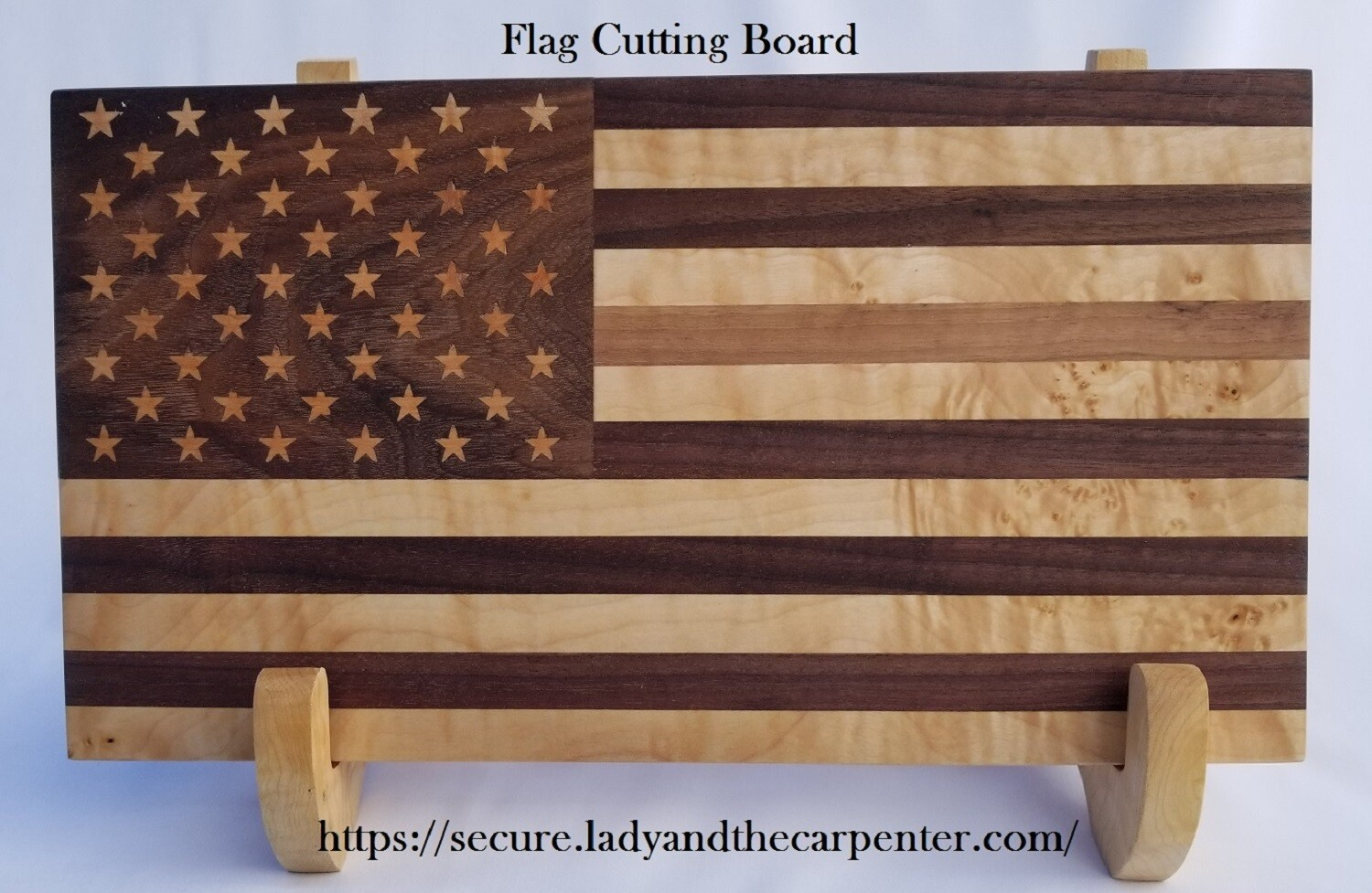 """Old Glory"" Flag Cutting or Charcuterie / Cheese Board"