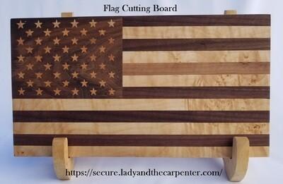 Flag Cutting or Charcuterie / Cheese Board