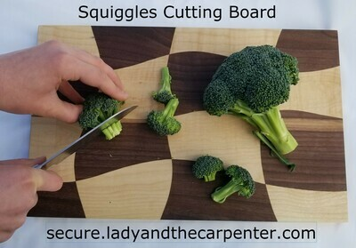 Curved Line Cutting Boards
