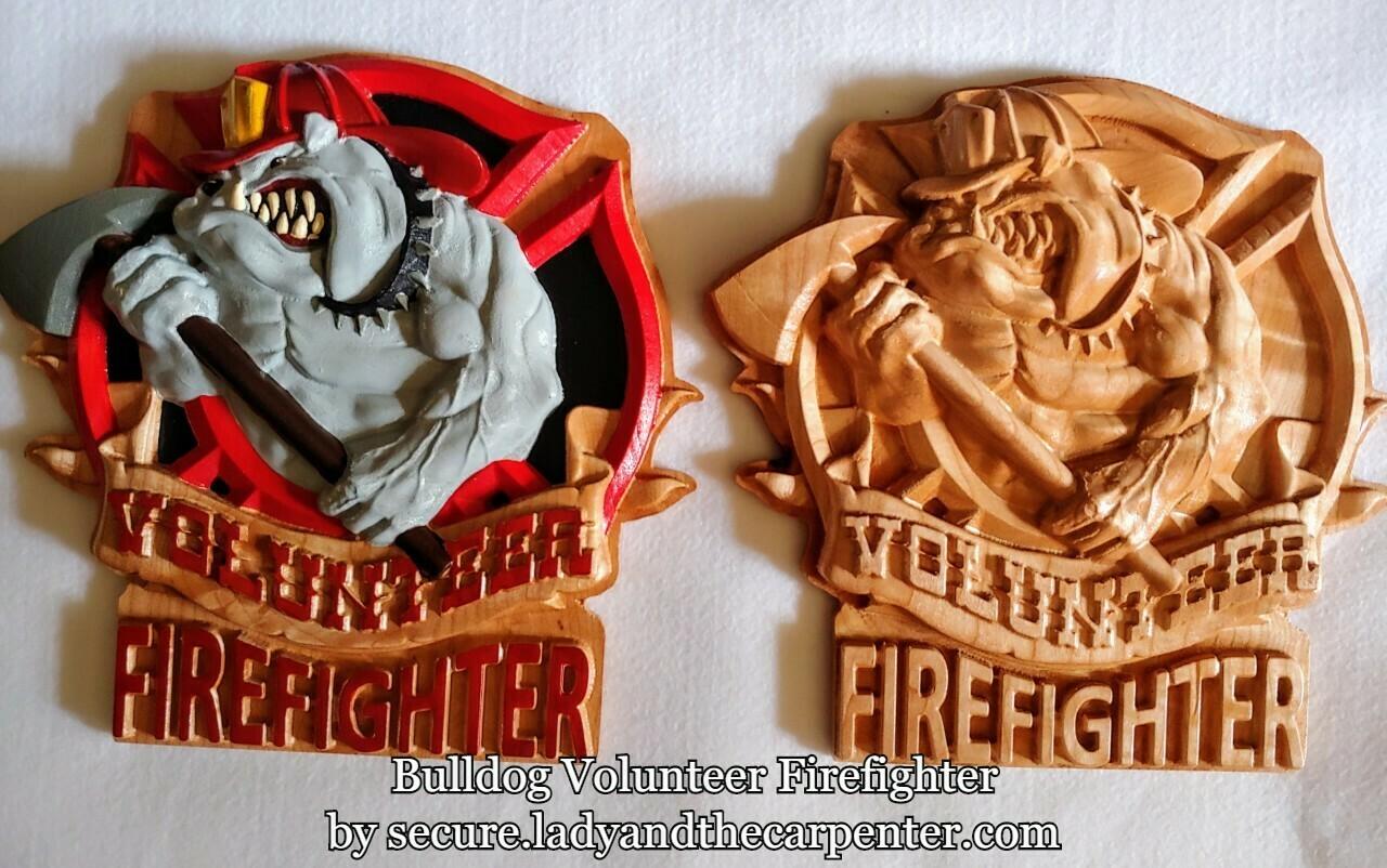 Bulldog Volunteer Firefighter