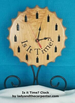 Bottle Cap Clock