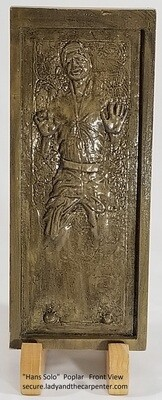 Han Solo in Carbonite 3D Wall Art
