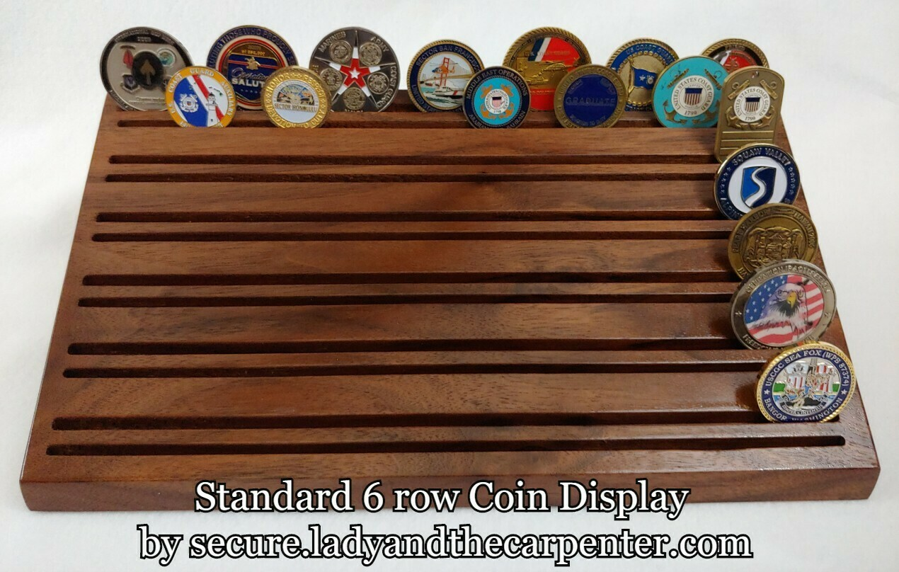 Standard Coin/Token/Challenge Coin Display