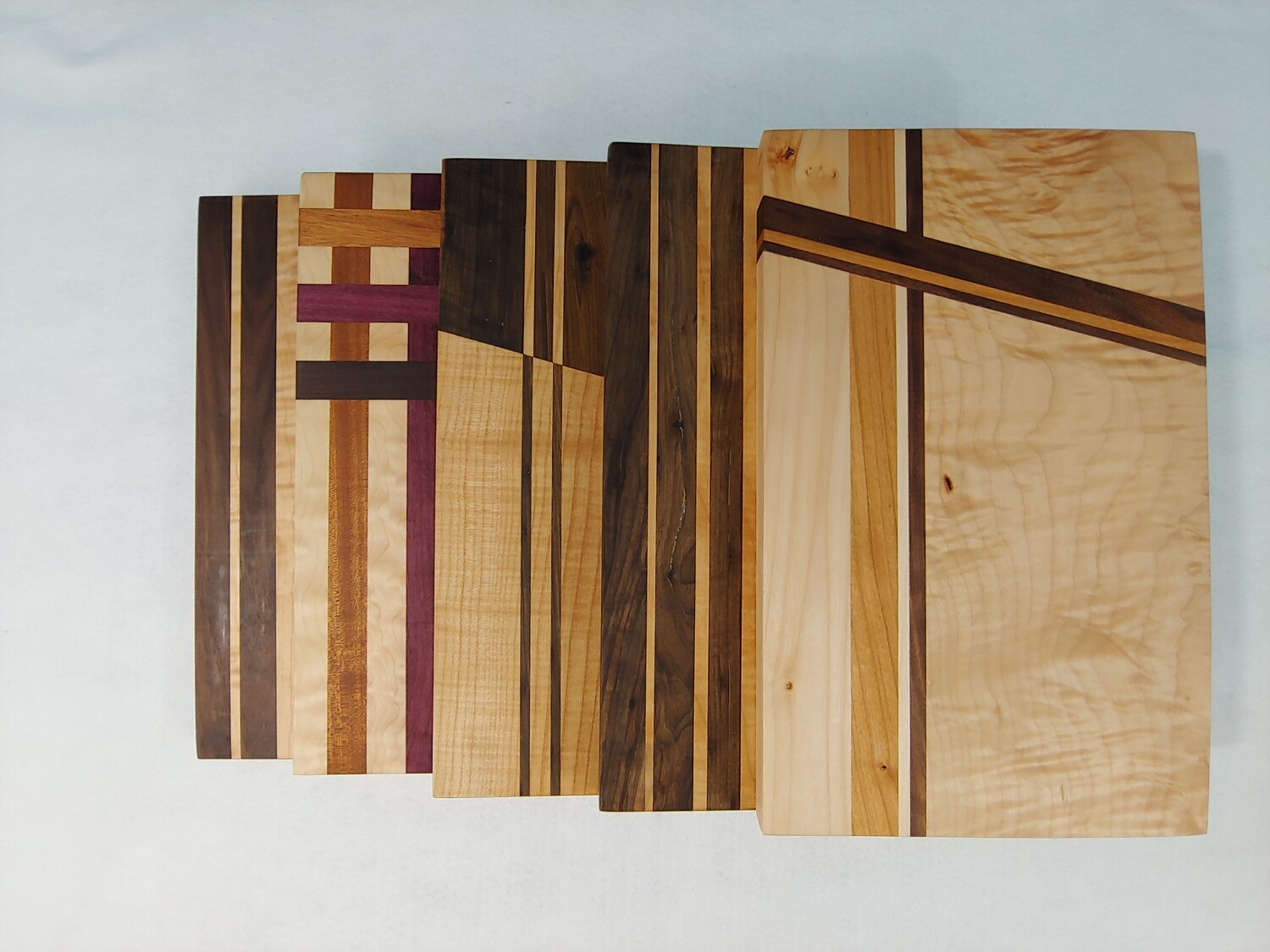 Cutting Board: Straight Line Designs