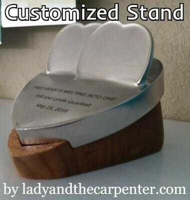 Heart Stand- Custom