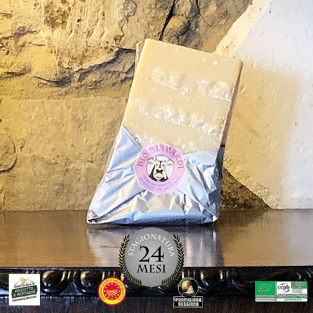 """Parmigiano Reggiano DOP """"Prodotto di Montagna"""" 24 mesi 500g 00007"""