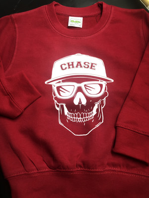 Personalised Skull Jumper