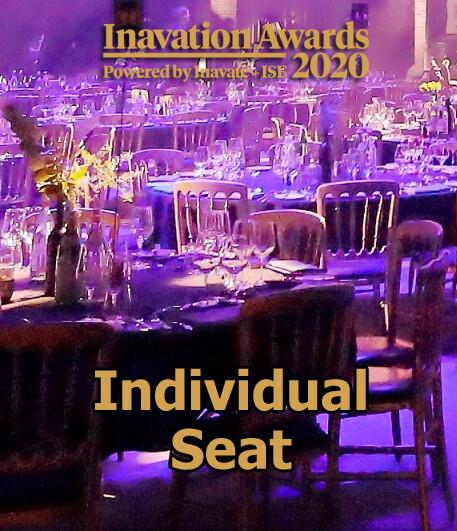 Inavation Awards 2020 (Individual Seat)